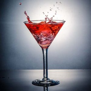 Cocktail avec alcool